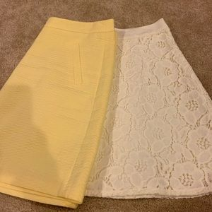 Bundle of 2 NWT the limited skirts size 12